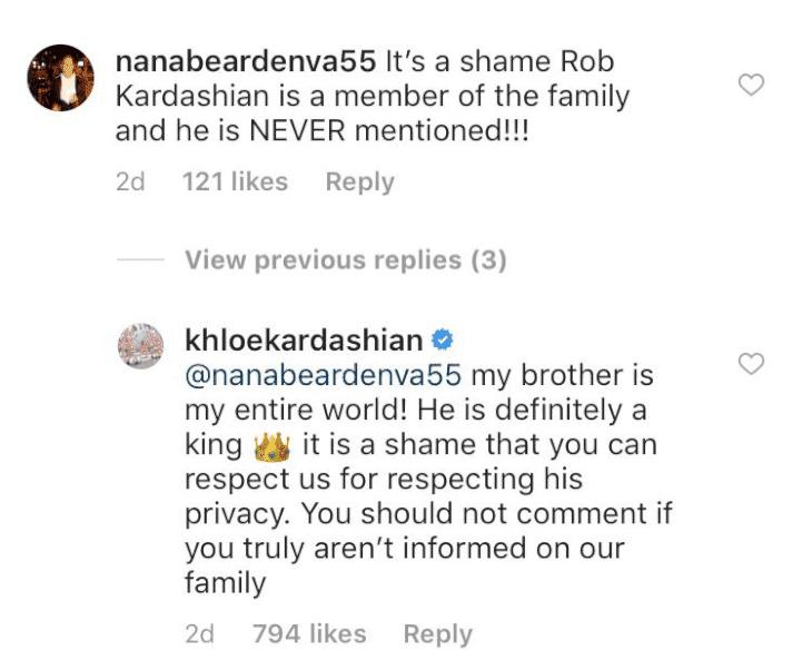Instagram/Khloe Kardashian via Cosmopolitan