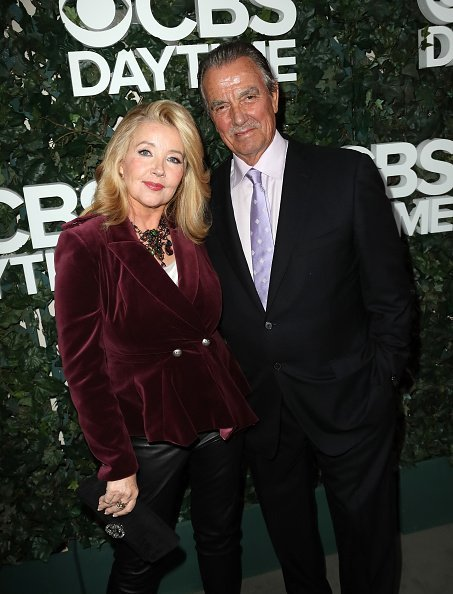 Eric Braeden and Dale Russell Gudegast at the CBS Daytime in Beverly Hills, California. | Photo: Getty Images