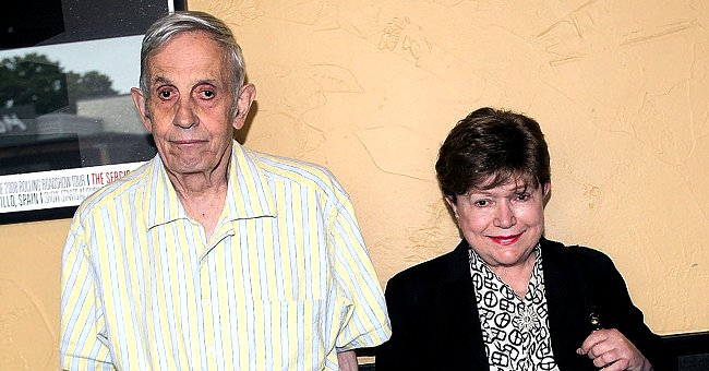 """Mathematician and Nobel Prize winner John Nash and his wife Alicia Nash at a screening of """"A Beautiful Mind"""" at the Alamo Drafthouse on September 16, 2012   Photo: Getty Images"""