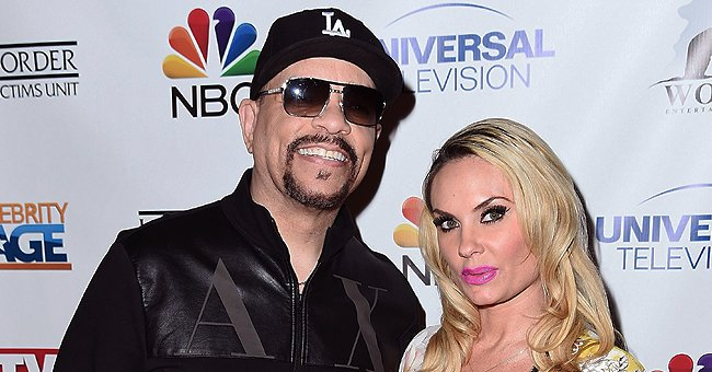 Coco Austin Makes Hearts Swoon Pouring Her Curves into a Leopard-Print Dress & Matching Heels
