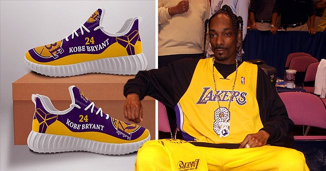 Snoop Dogg Shows off Special Kobe Bryant Sneakers Model in a Photo