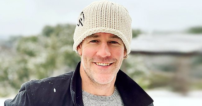 'Dawson's Creek' Star James Van Der Beek Enjoys Texas Snow Day Outdoors with His 5 Kids