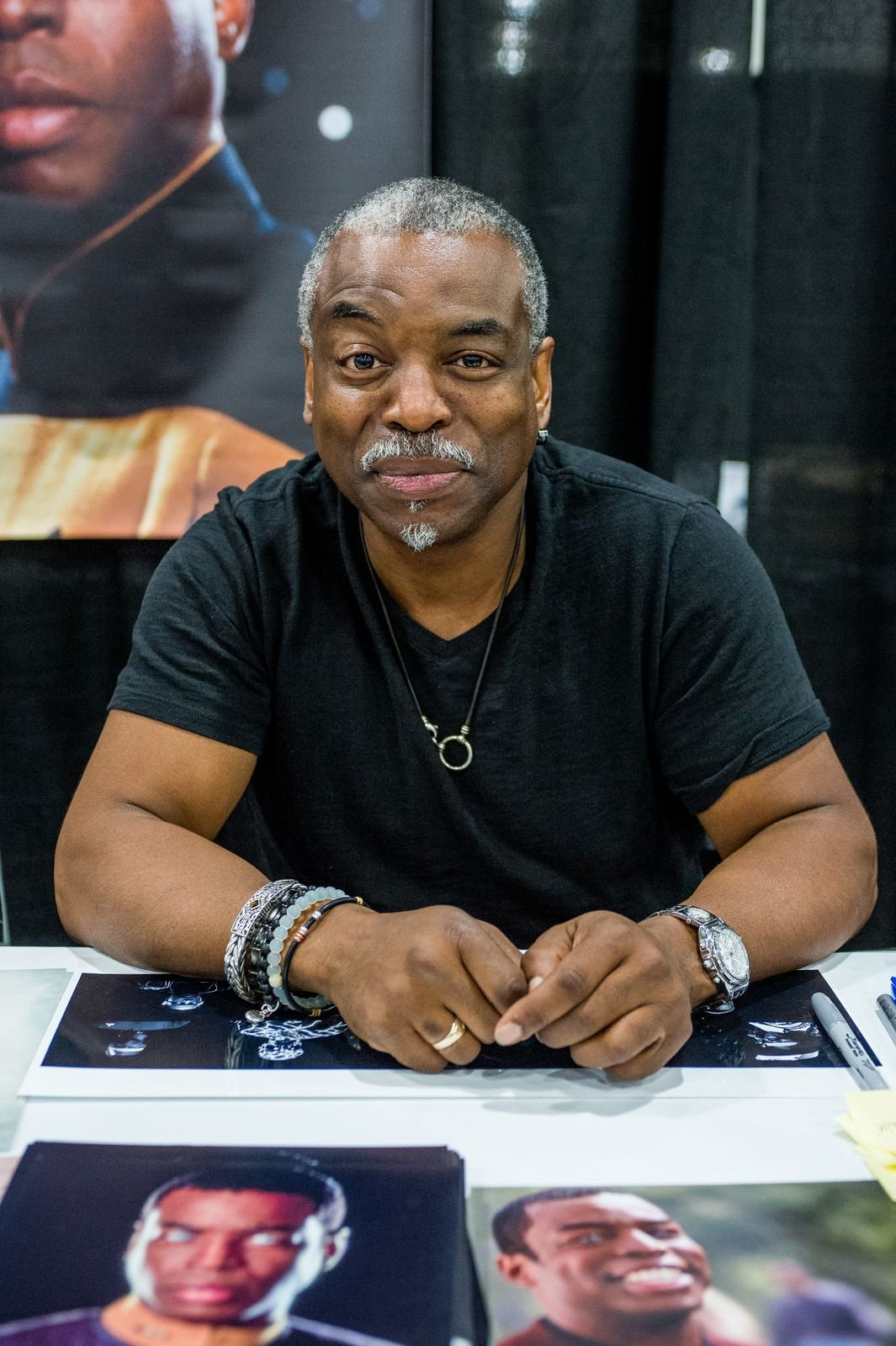 """LeVar Burton at day three of the""""Star Trek: Mission New York"""" event on September 4, 2016, in New York City   Photo:Roy Rochlin/Getty Images"""