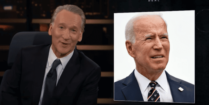 Bill Maher talking about Joe Biden   Photo: YouTube/Real Time with Bill Maher