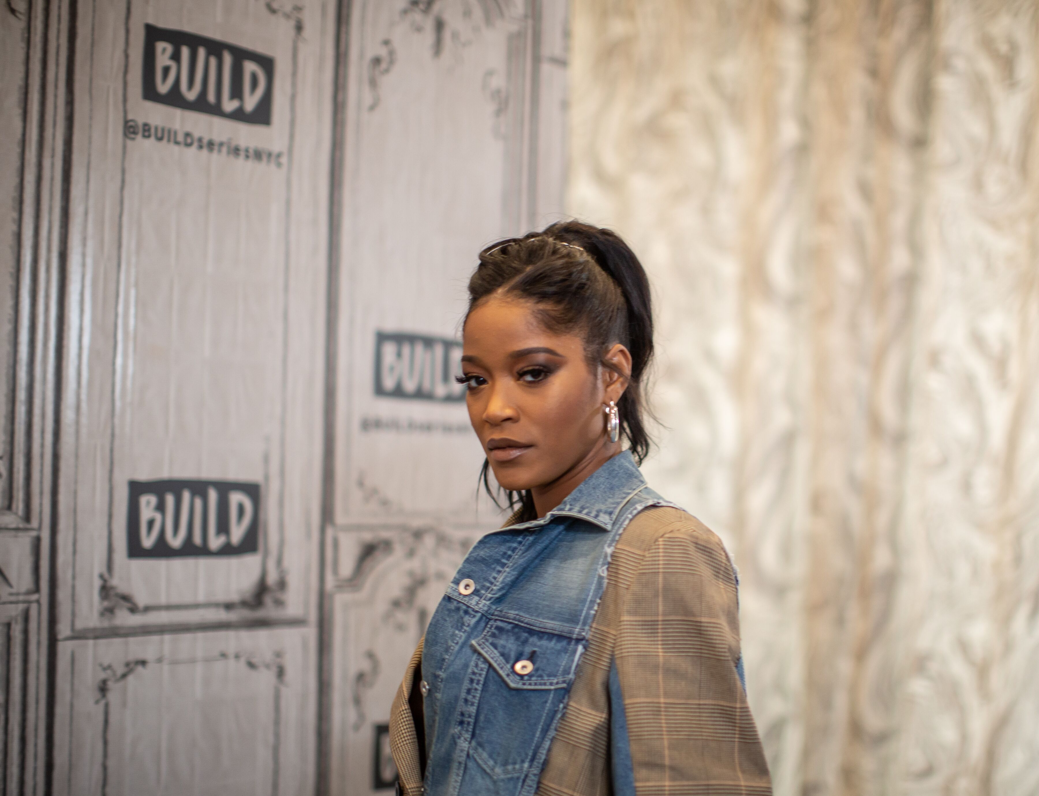 Keke Palmer at the BUILD event in New York City | Source: Getty Images/GlobalImagesUkraine