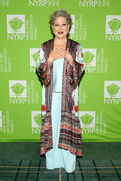 Bette Midler at the New York Botanical Garden on June 19, 2019 in New York City | Photo: Getty Images