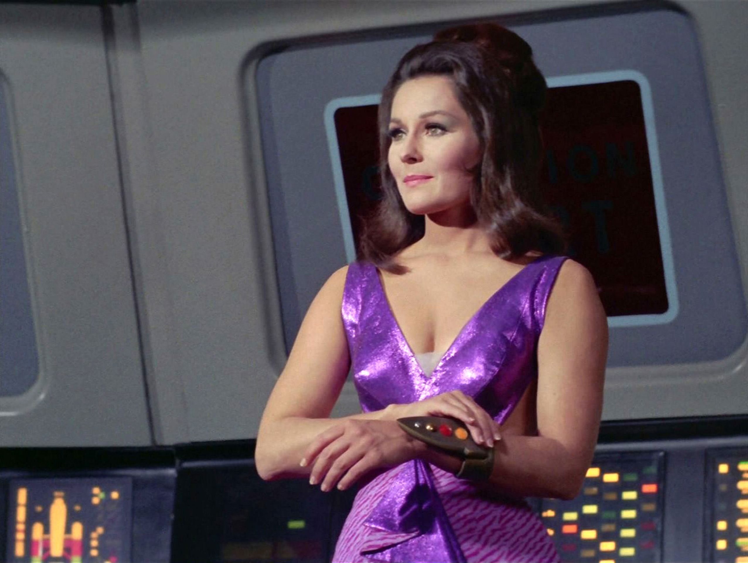 "Marj Dusay as Kara in the STAR TREK episode, ""Spock's Brain."" 
