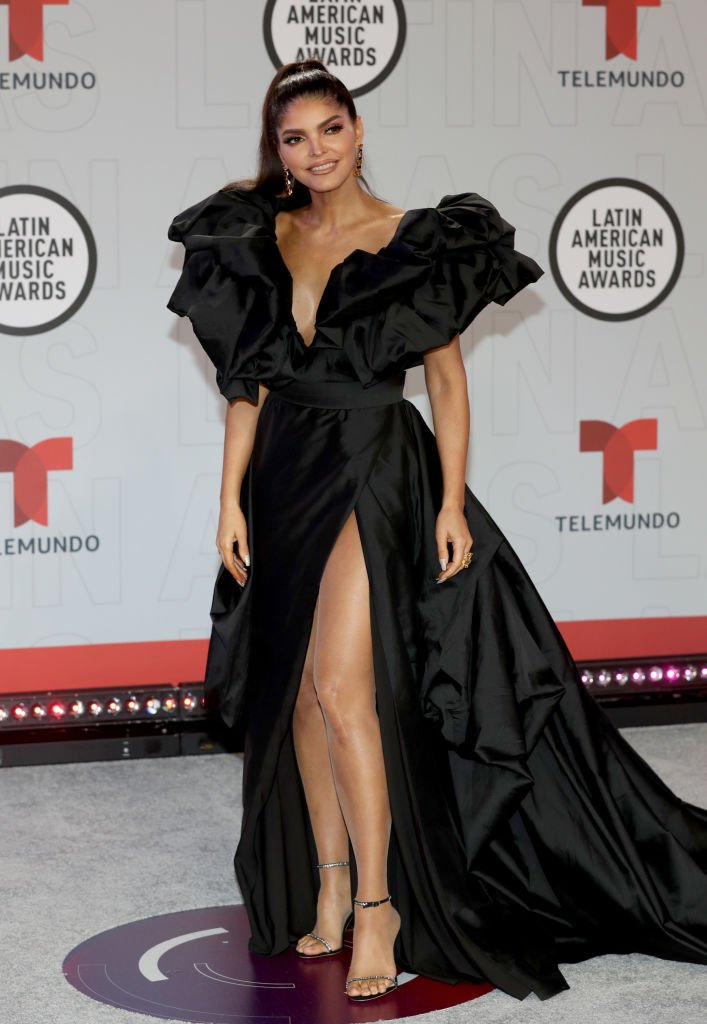 Ana Bárbara en los Latin American Music Awards. | Foto: Getty Images.