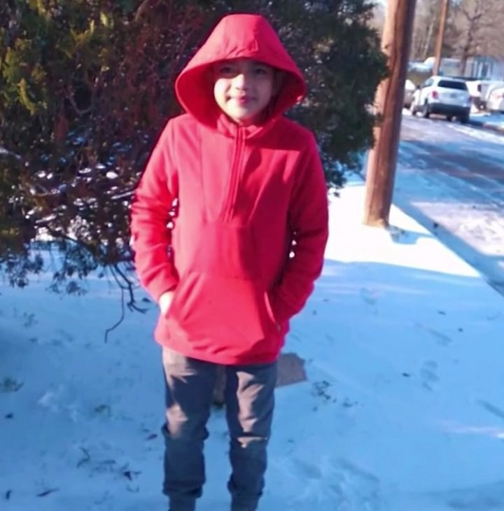 11-year-old Texas boy Cristian Pavon died of suspected hypothermia while sleeping. | Image: Youtube/ KENS 5.