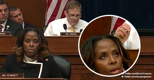Rep. Stacey Plaskett Goes Viral for 'Eye Roll' at Republican during Cohen Hearing