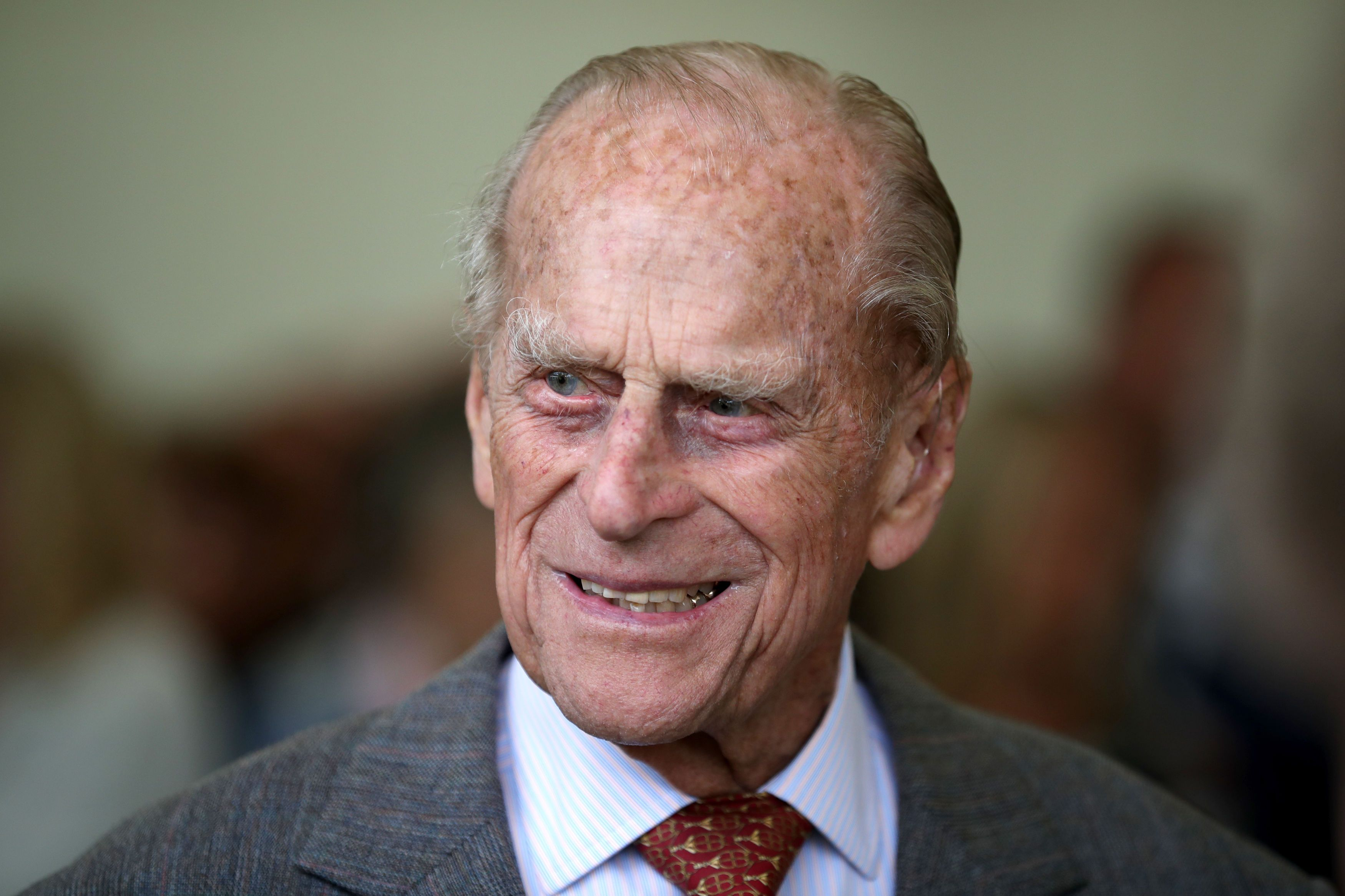 Prince Philip at the Presentation Reception for The Duke of Edinburgh Gold Award holders in the gardens at the Palace of Holyroodhouse on July 6, 2017 | Photo: Getty Images