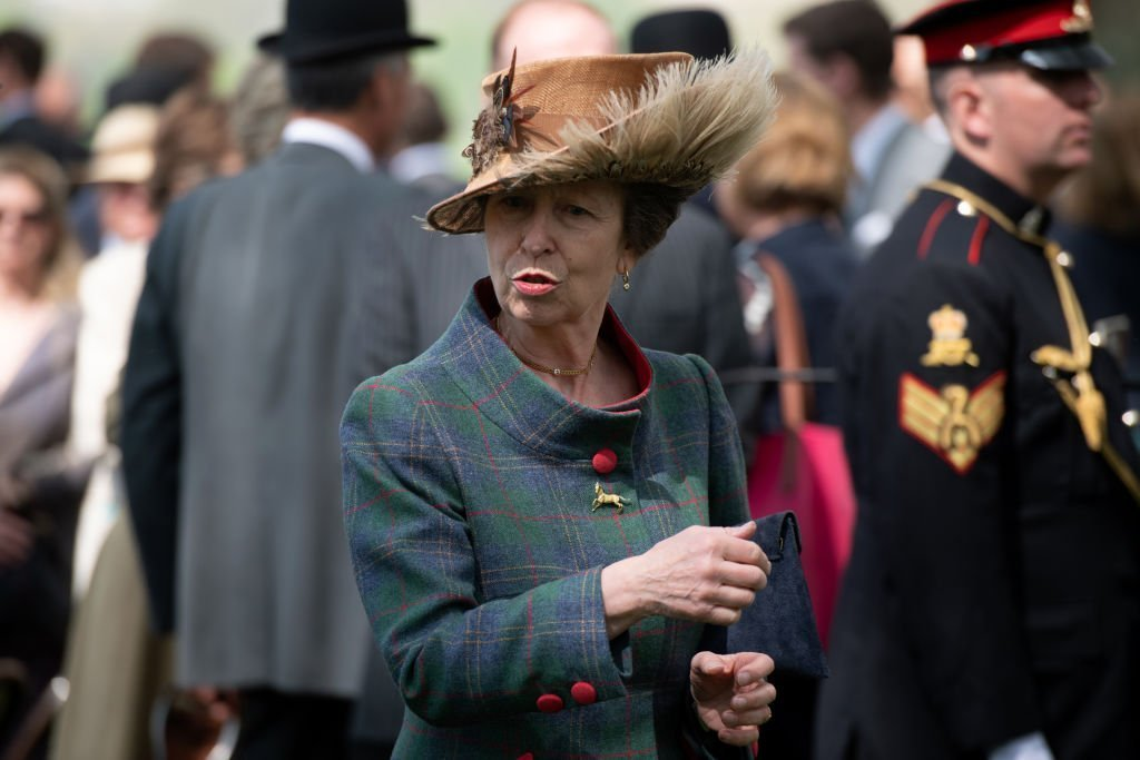 Princess Anne leaves after attending a 41 Royal gun salute to mark the 93rd birthday of Queen Elizabeth II on April 22, 2019 | Photo: Getty Images