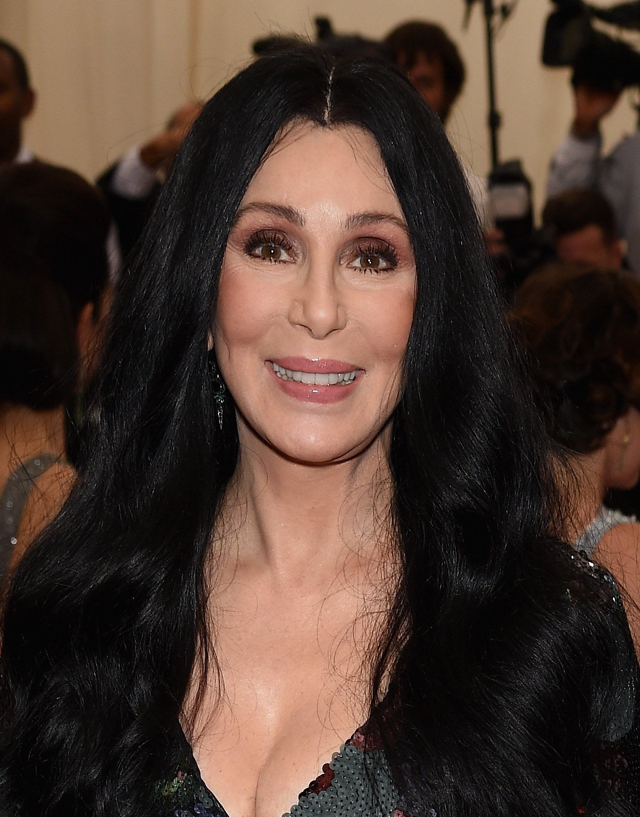 "Cher attends the ""China: Through The Looking Glass"" Costume Institute Benefit Gala at the Metropolitan Museum of Art on May 4, 2015, in New York City. 