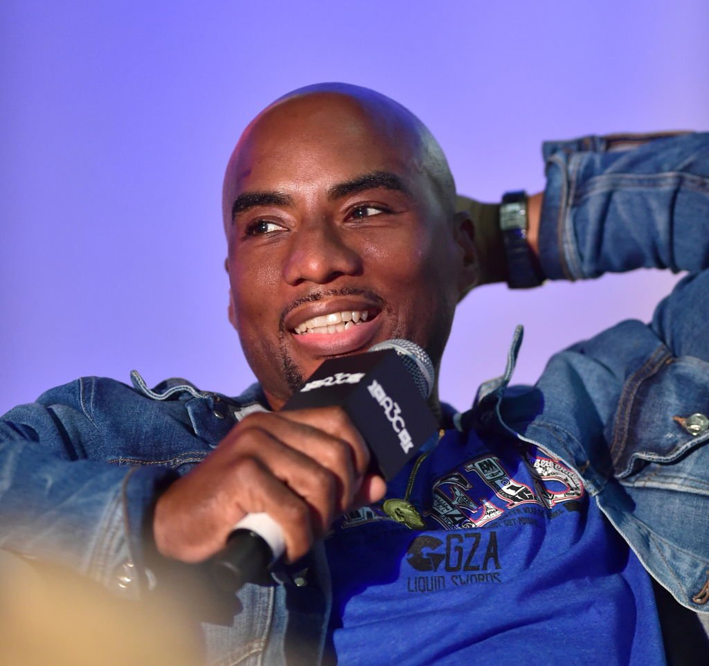 Charlamagne Tha God at speaking at a conference in October 2019. | Photo: Getty Images