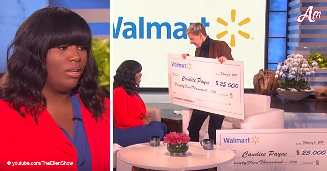 Woman helps 100+ unhoused people during life threatening cold, gets unexpected award from Ellen