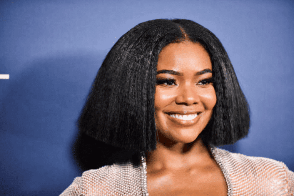 "Gabrielle Union poses on the red carpet for the ""America's Got Talent"" Season 14 Finale, on September 18, 2019 in Hollywood, California 