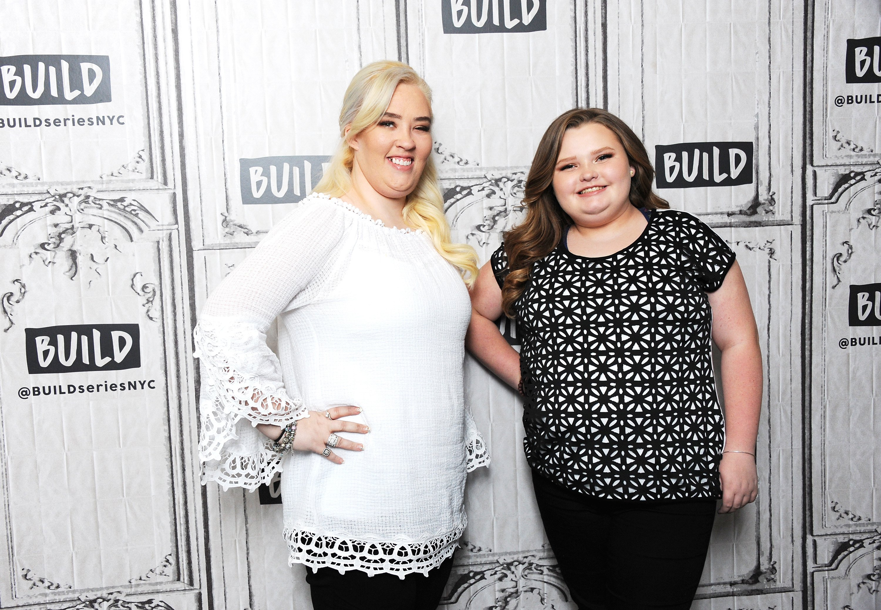 "Mama June Shannon and Alana ""Honey Boo Boo"" Thompson visit Build Series to discuss ""Mama June: From Not to Hot"" at Build Studio on June 11, 2018 in New York City 