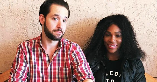 Serena Williams' Daughter & Husband Enjoy Roasting Marshmallows on a Fire in Their Lavish House