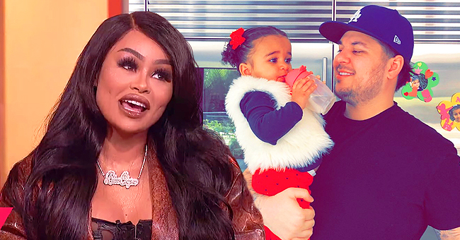 Rob Kardashian's Daughter Dream Shows Love for Her Mom as She Kisses Blac Chyna in a Sweet Pic