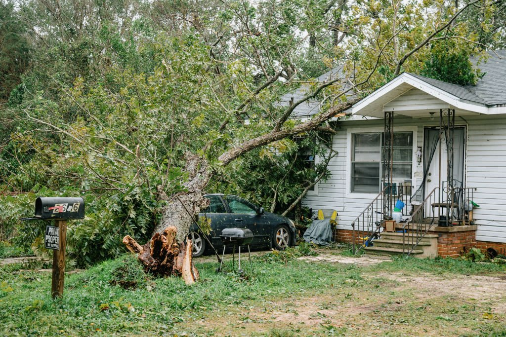 A portrait of a home in West Pensacola on September 16th, 2020   Photo: Getty Images