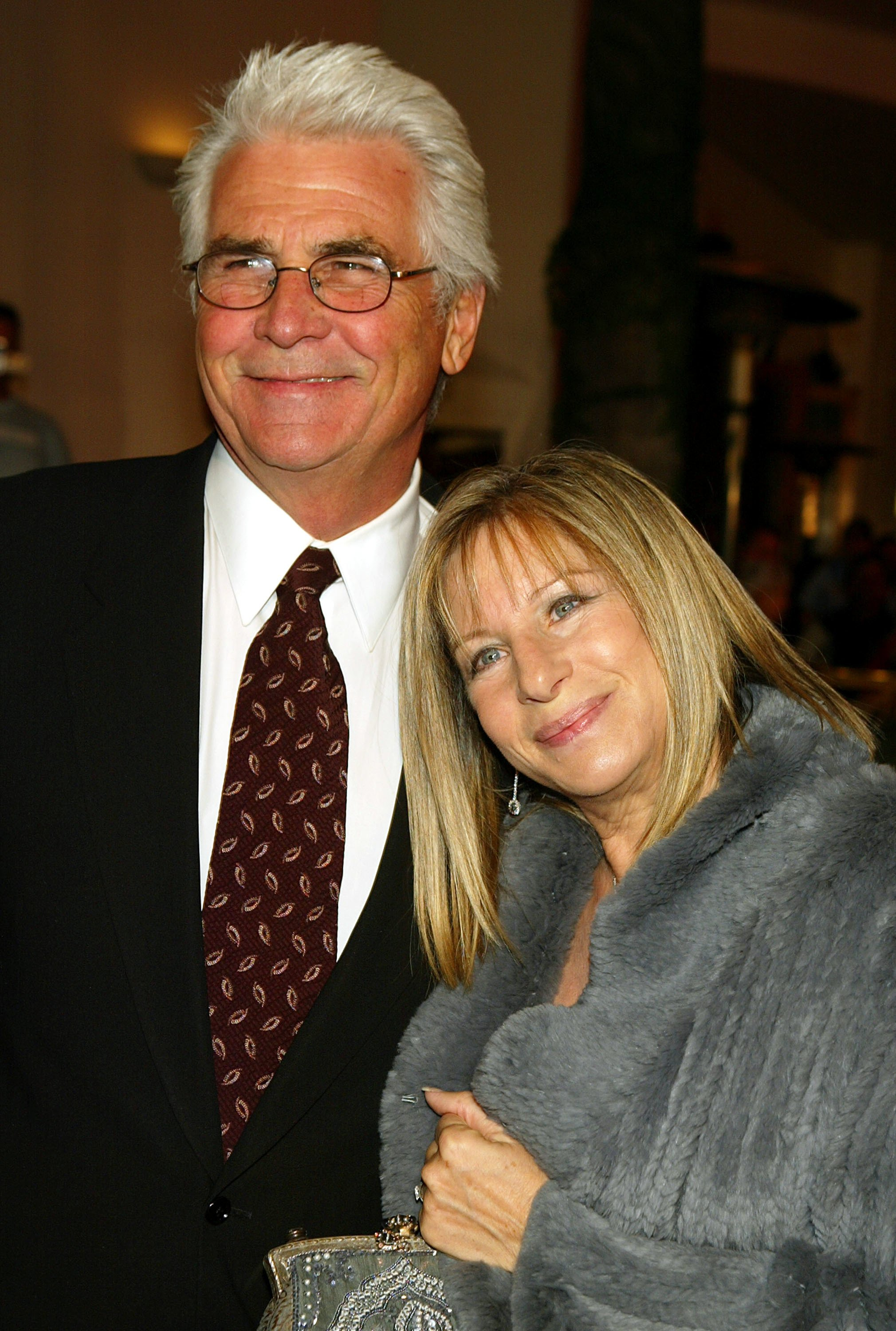 "Barbra Streisand and husband James Brolin at the premiere of Universal's ""Meet the Fockers"" at the Universal Amphitheatre on December 16. 2004 in Los Angeles, California. 