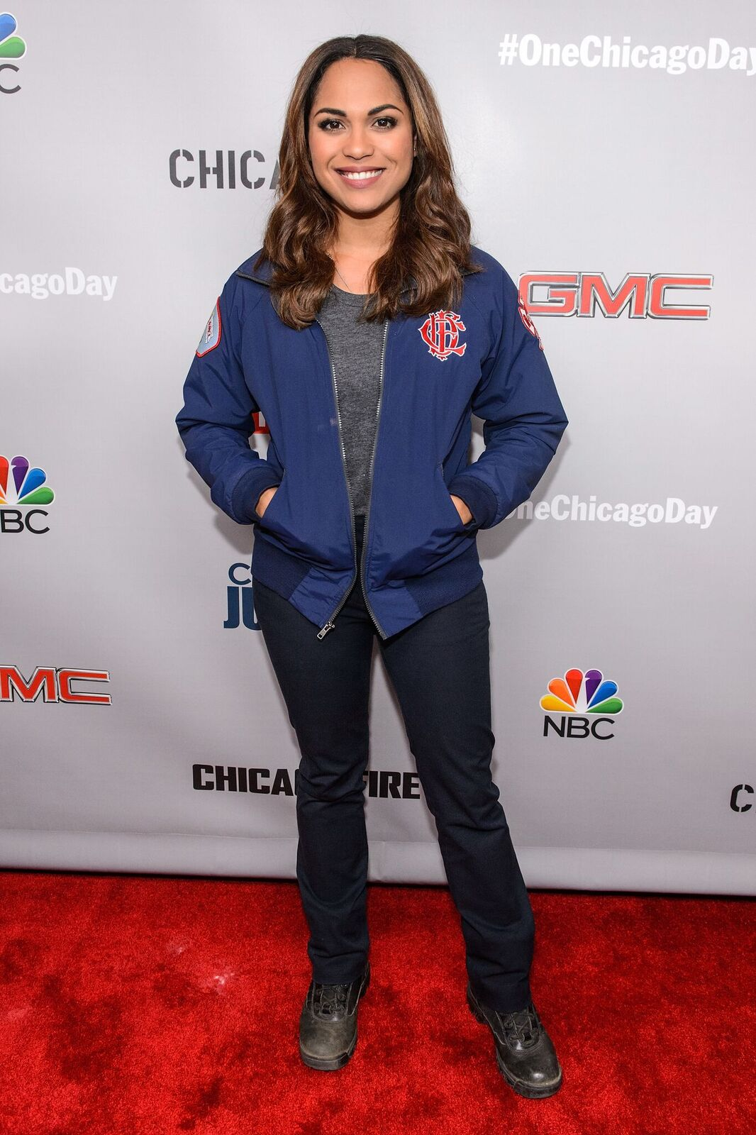 Monica Raymund attends NBC's Chicago series press day on October 24, 2016 in Chicago, Illinois | Photo: Getty Images