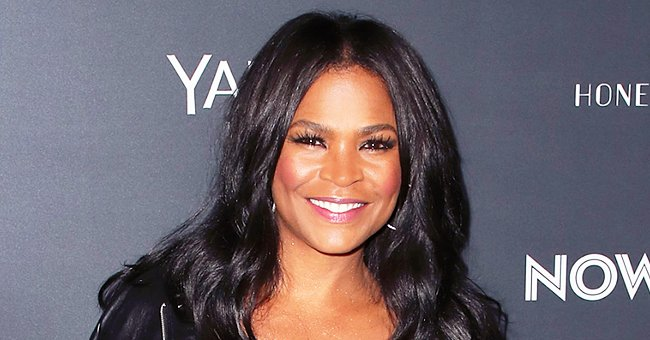'Soul Food' Star Nia Long Encourages People to Wear a Mask Amid the COVID-19 Pandemic in a Pic with Son Kez
