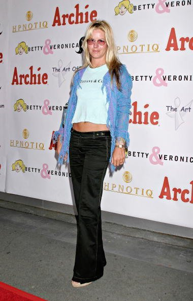 "Courtney Wagner attends the Launch of Miramax Films, Archie Comics and Kitson New Apparel Line Featuring ""Betty & Veronica"" on May 24, 2004, at Kitson Retail Store in Beverly Hills, California. 