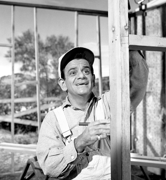 Photo of Sid Melton on set of a movie | Photo: Getty Images