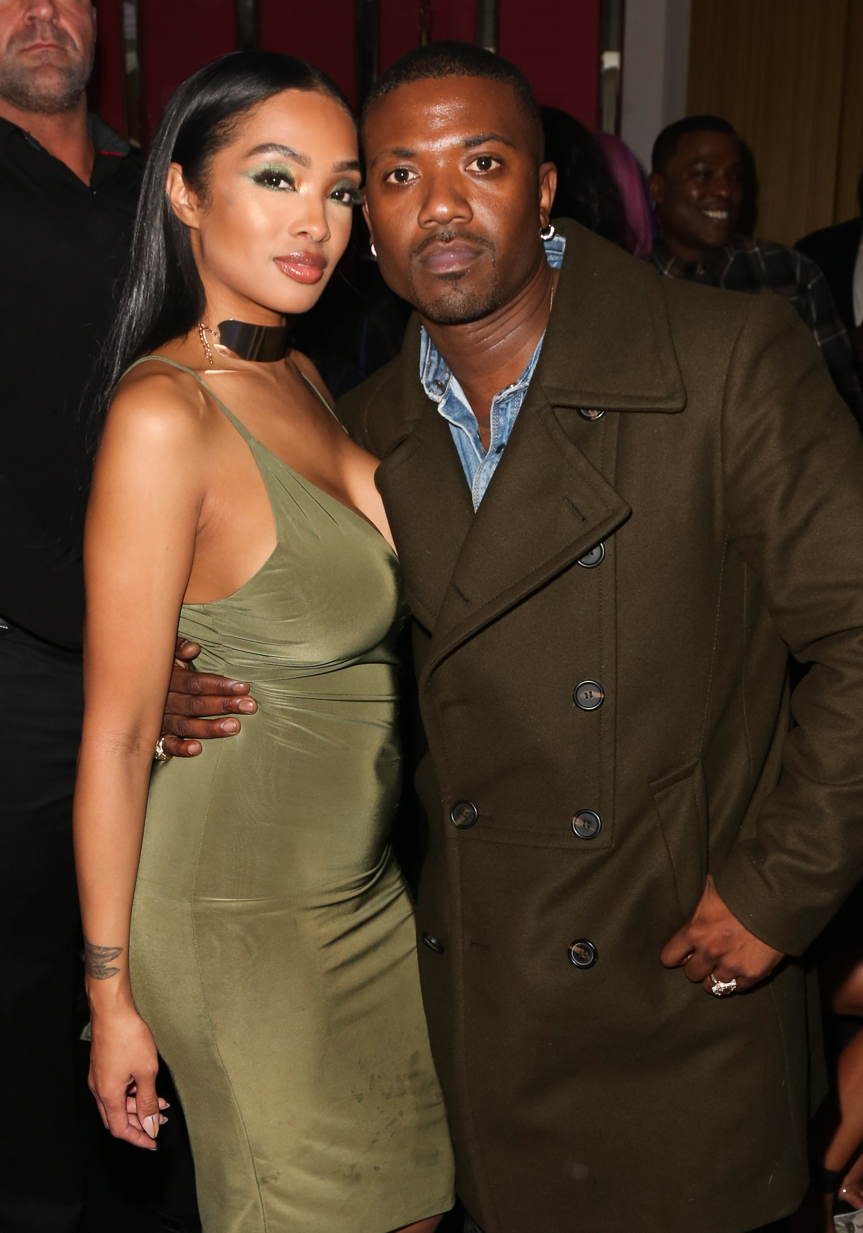 Ray J and Princess Love at Tyga's birthday celebration in November 2018. | Photo: Getty Images