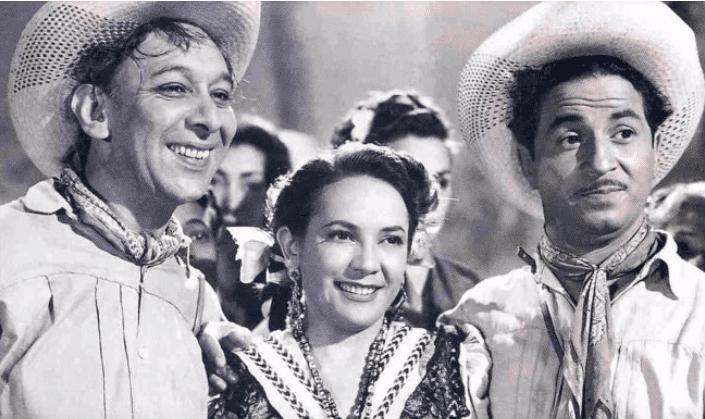 Agustín Isunza, Delia Magaña y Valerita. | Fuente: YouTube /  estructura cinemexicano