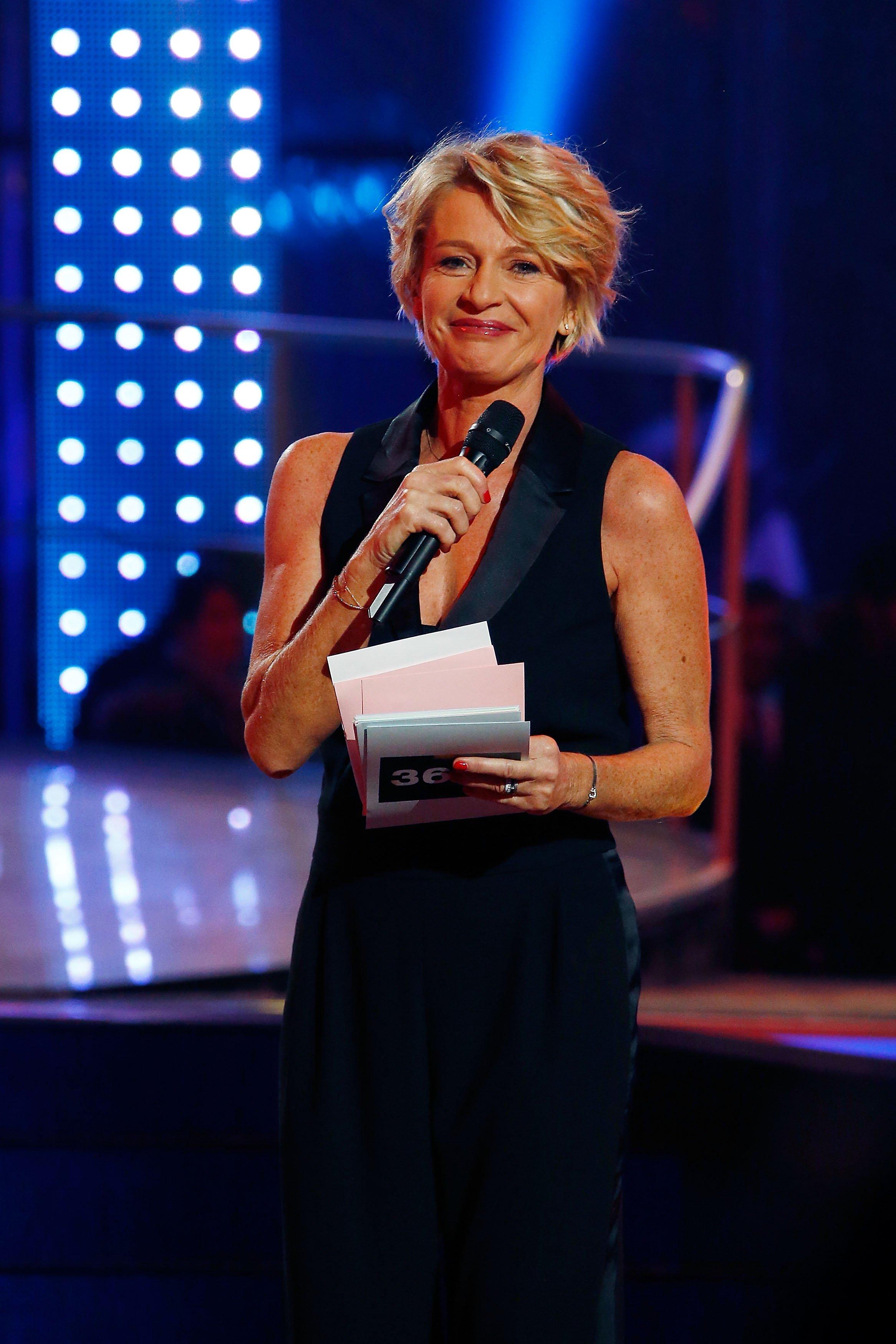 Sophie Davant est sur tous les écrans de télévision. l Source: Getty Images