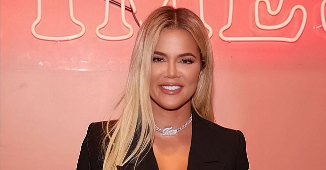 Khloé Kardashian Shows off Her Toned Figure While Blasting Kanye West Music during Her Morning Workout