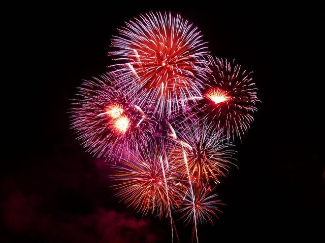 The diplomat ended the night with fireworks! | Photo: Pixabay/PublicDomainPictures