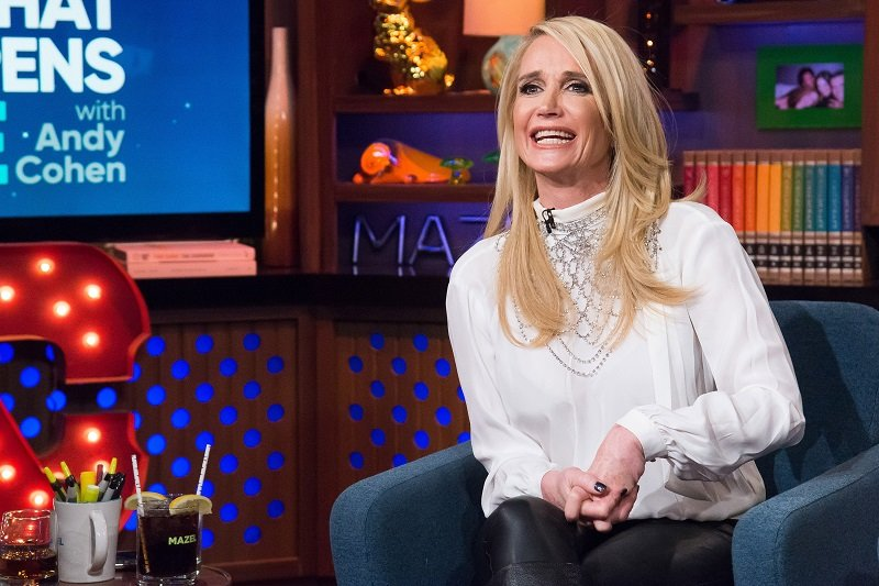 """Kim Richards on """"Watch What Happens Live with Andy Cohen"""" Season 14 in January 2017 