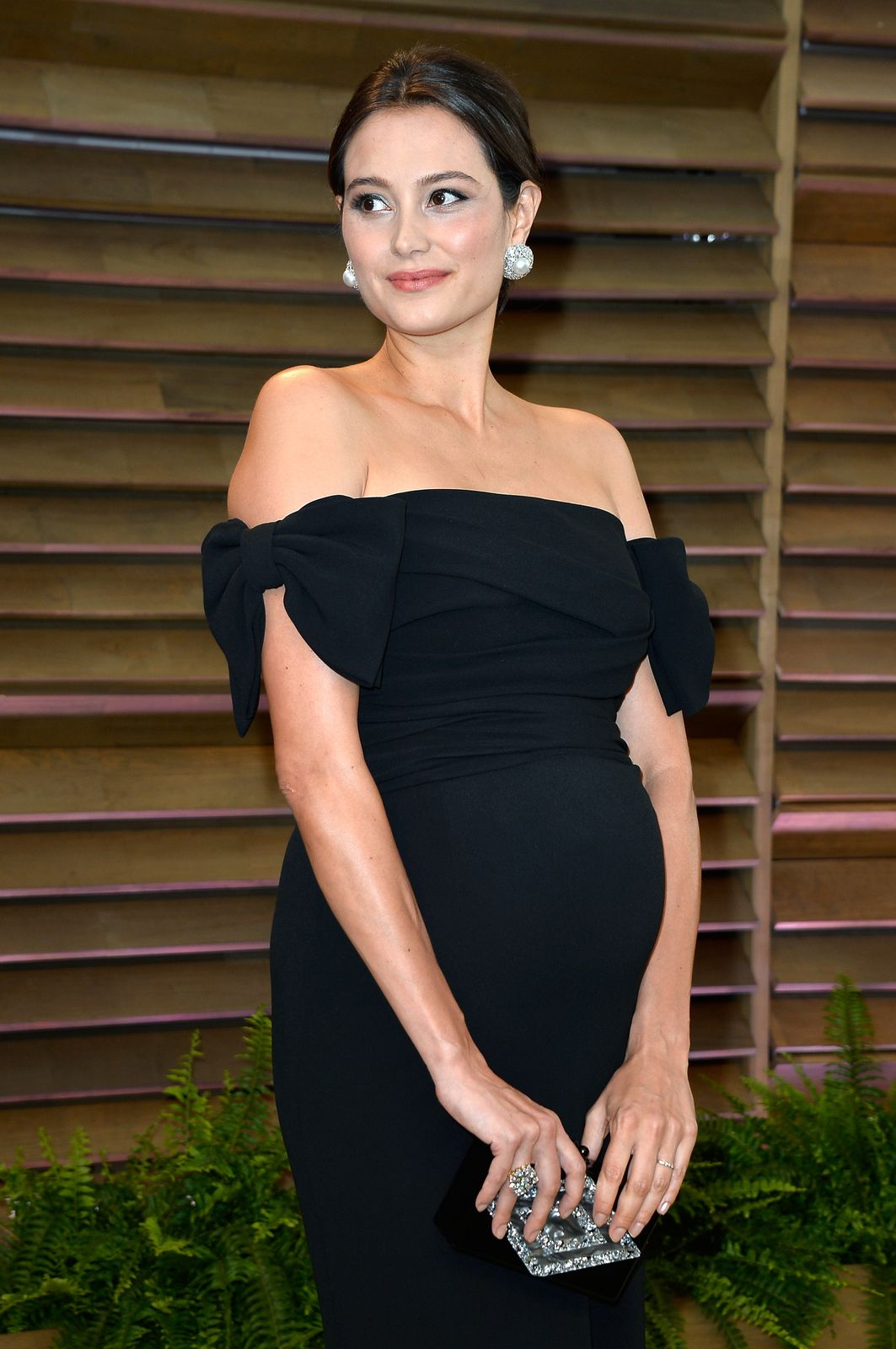 Emma Willis attends the 2014 Vanity Fair Oscar Party on March 2, 2014 | Getty Images