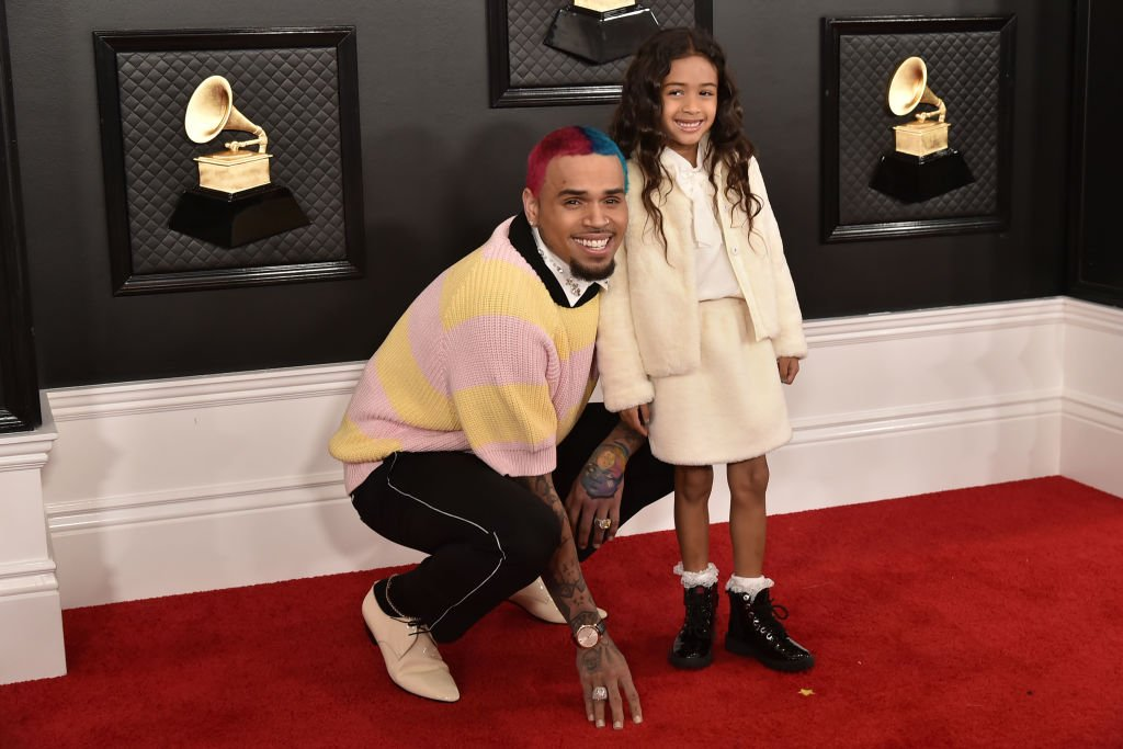 Chris Brown and Royalty Brown attend the 62nd Annual Grammy Awards at Staples Center | Photo: Getty Images