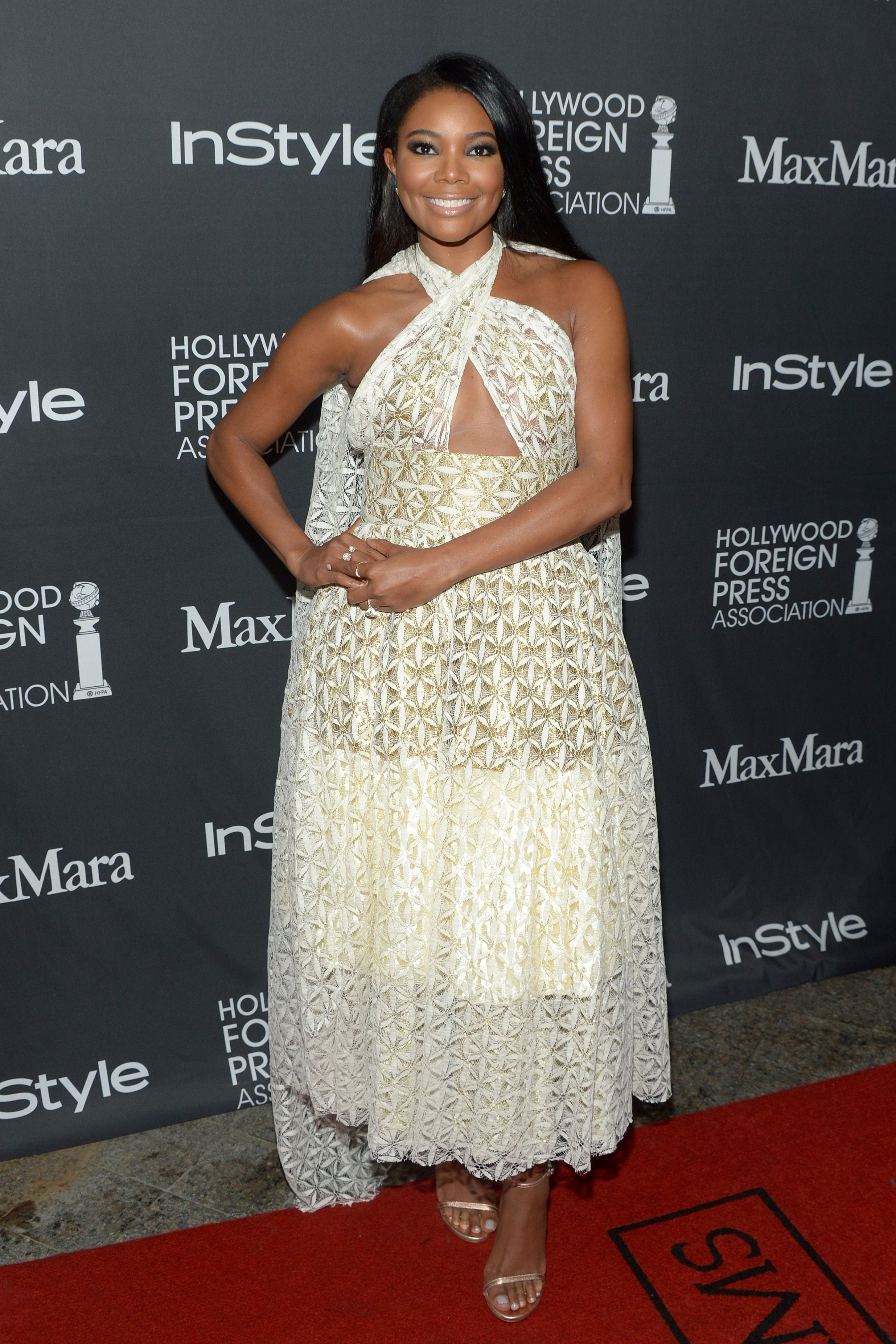 Gabrielle Union during the TIFF/InStyle/HFPA Party during the 2016 Toronto International Film Festival at Windsor Arms Hotel on September 10, 2016 in Toronto, Canada. | Source: Getty Images