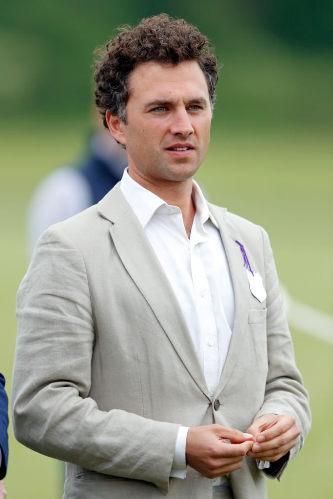 Thomas van Straubenzee at the Jerudong Trophy charity polo match at Cirencester Park Polo Club on May 25, 2018 in Cirencester, England | Photo: Getty Images