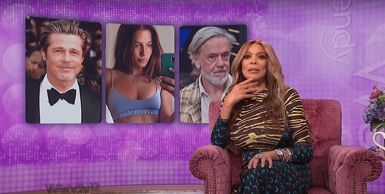 Wendy Williams talks about Brad Pitt and his new girlfriend's relationship in her show. | Source: YouTube.com/TheWendyWilliamsShow