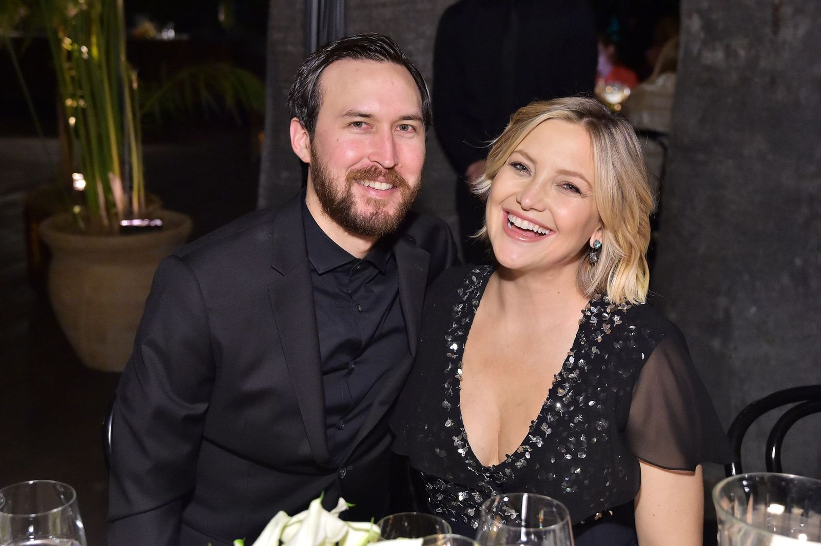 Danny Fujikawa and Kate Hudson atMichael Kors Dinner to celebrate Kate Hudson and The World Food Programme on November 7, 2018, in Beverly Hills, California | Photo:Stefanie Keenan/Getty Images