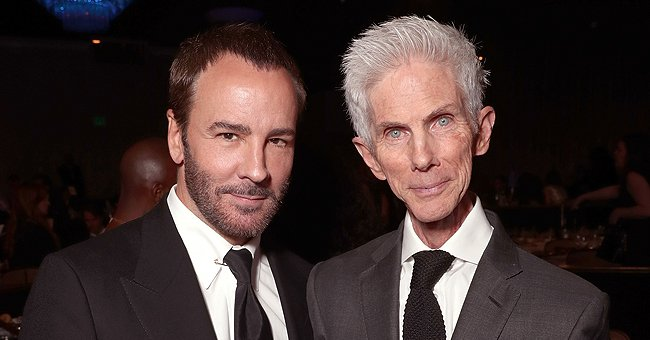 Tom Ford and Richard Buckley atthe Writers Guild Awards L.A. Ceremony at The Beverly Hilton Hotel on February 19, 2017, in California   Photo:Todd Williamson/Getty Images