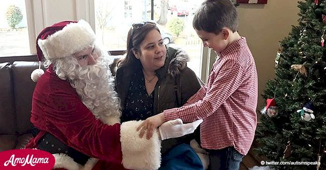 This Santa understands children with autism because he has it too