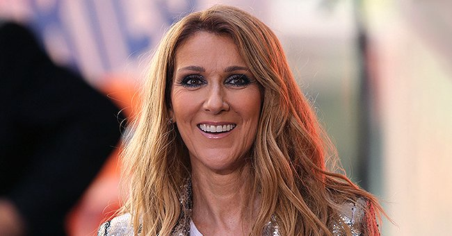Céline Dion Stuns in Neon Green & Navy Blue Balenciaga Streetwear after NYC Stop of 'Courage World Tour'