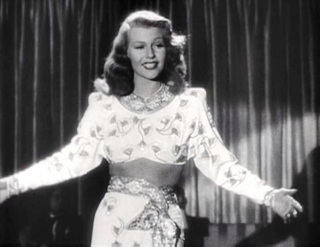 "Rita Hayworth performing ""Amado Mio"" in the Gilda trailer 