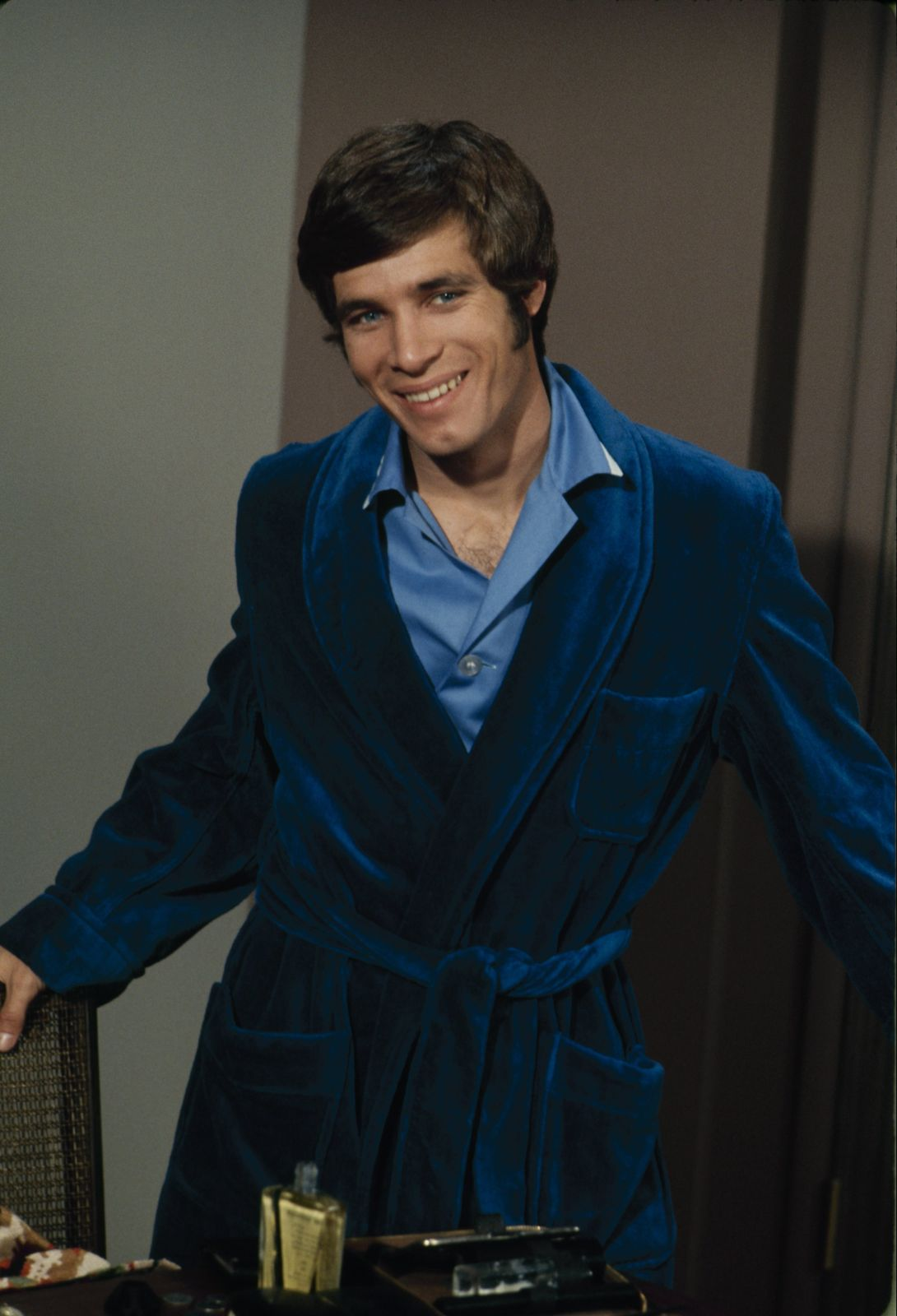 """A portrait of Don Grady on set of """"LOVE, AMERICAN STYLE"""" on 13 February, 1970 