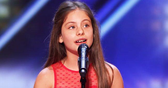 Emanne Beasha a surpris les juges avec sa présentation à AGT.   Photo : YouTube/America's Got Talent