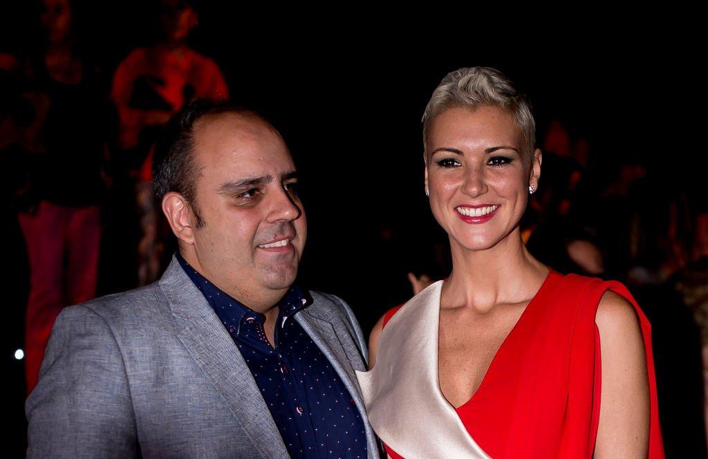 María Jesús Ruiz y Julio Ruz en el espectáculo de Miguel Marinero.  Fuente: Getty Images
