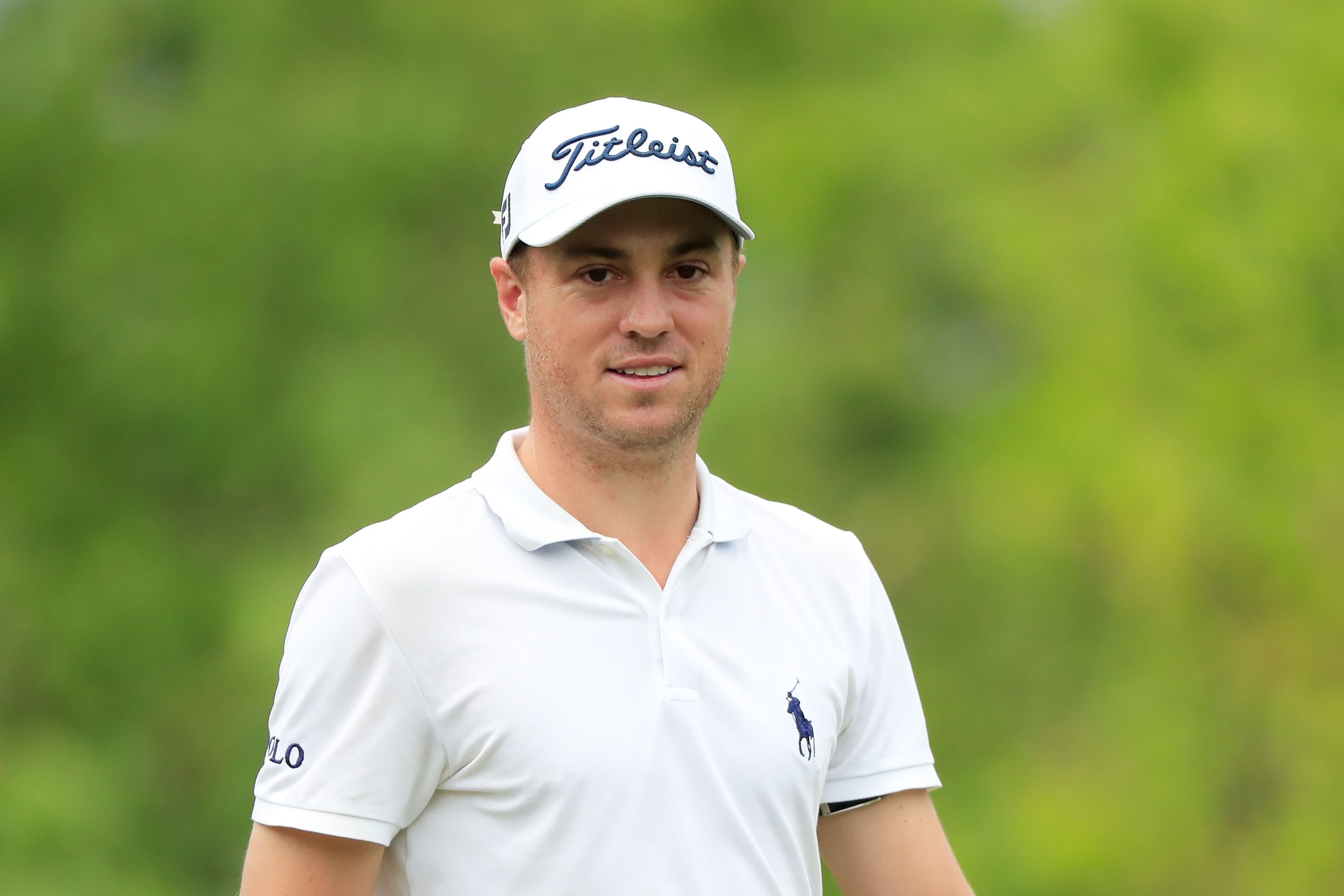 Justin Thomas during the final round of the Mayakoba Golf Classic at El Camaleón Golf Club in December 2020 in Playa del Carmen, Mexico | Source: Getty Images