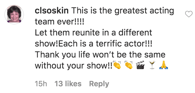 "A fan commented on Viola's Davis' tribute to the cast of ""How to Get Away with Murder.""